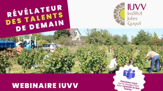 Replay du webinaire IUVV du 10 mars 2021